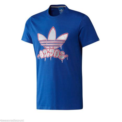 Adidas Originals Tee Blue