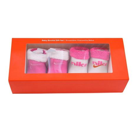 Nike Infant Gift Set (Sx2811) Pink/White