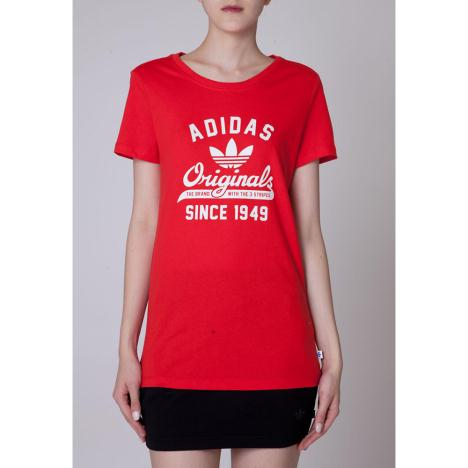 Adidas Tee (34975) Red